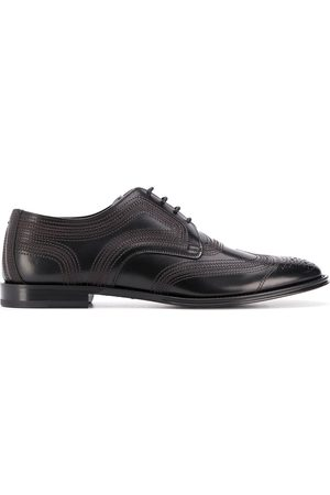 Dolce & Gabbana Brogue-detailed Derby shoes