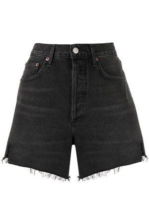 AGOLDE Frayed edge shorts