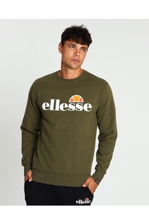 Ellesse Men Sweatshirts - Succiso Sweater - Sweats (Khaki) Succiso Sweater