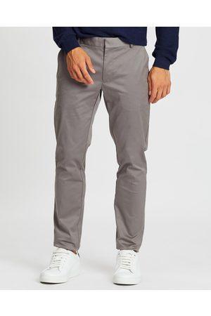 SABA Baxter Slim Chino Pants - Pants (Gravel) Baxter Slim Chino Pants