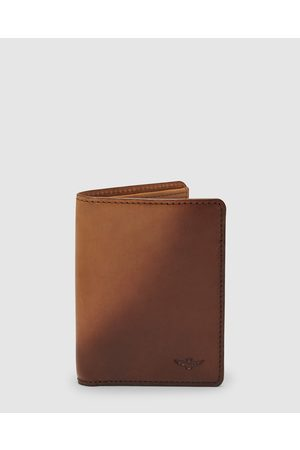 Aquila Archie Card Wallet - Wallets (Cognac) Archie Card Wallet