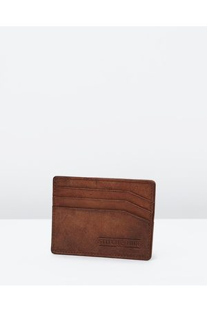 Stitch & Hide Alfred Wallet - Wallets (Cafe) Alfred Wallet