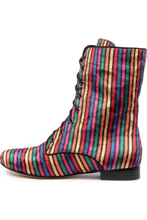 I LOVE BILLY Women Ankle Boots - Eulah Bright Multi Boots Womens Shoes Casual Ankle Boots