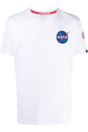 Alpha Industries NASA print short-sleeve T-shirt