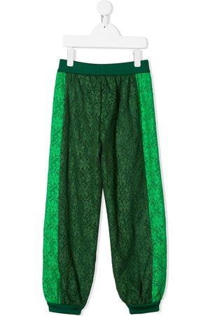 Gucci Floral lace track pants