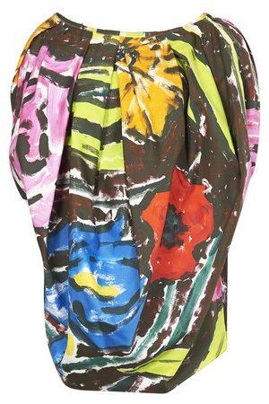 Marni Women Tank Tops - Floral print tank top
