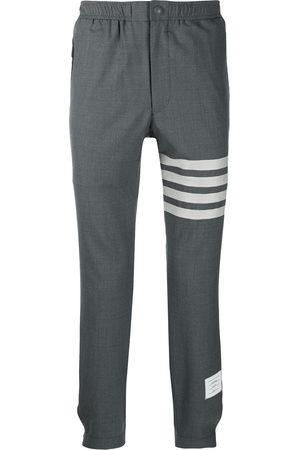 Thom Browne Men Joggers - Plain weave suiting track pants