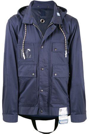 Maison Mihara Yasuhiro Snap button jacket