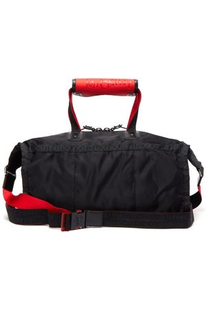 Christian Louboutin Pariscuba Leather-trimmed Nylon Holdall - Mens