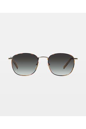 Le Specs Neptune Deux Sunglasses Bright Tortoise