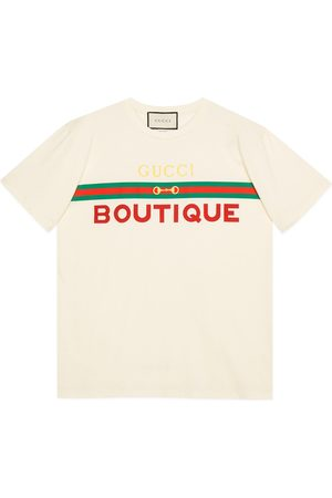 Gucci Women's Boutique print T-shirt