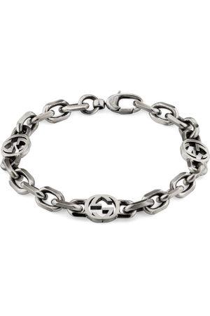 Gucci Bracelets - Silver bracelet with Interlocking G