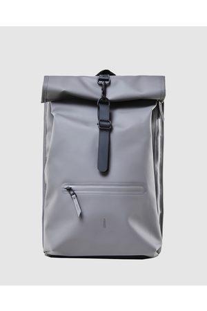 Rains Rolltop Rucksack - Bags (Charcoal) Rolltop Rucksack