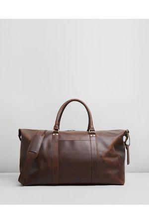 Double Oak Mills Lyle Leather Weekender - Duffle Bags Lyle Leather Weekender