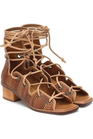 Stella McCartney Maia faux-leather gladiator sandals