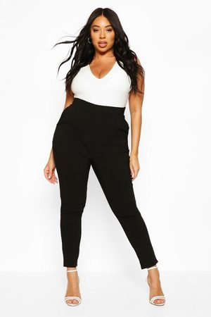 Boohoo Plus Super Stretch Fitted Pants
