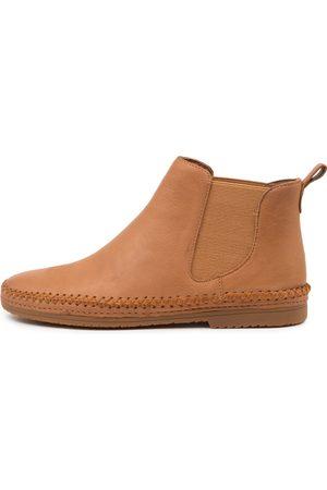 Django & Juliette Voodoo Dj Dk Tan Boots Womens Shoes Casual Ankle Boots