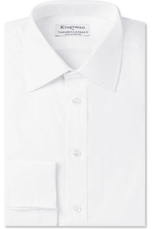 KINGSMAN Men Business - + Turnbull & Asser Double-cuff Cotton-twill Shirt