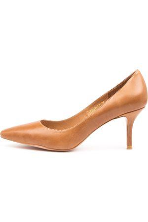 Django & Juliette Lonny Dj Tan Shoes Womens Shoes Dress Heeled Shoes