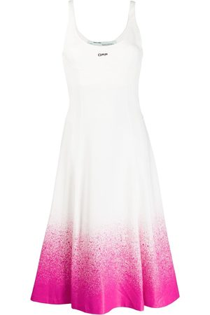 OFF-WHITE Degrade jersey dress