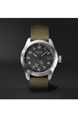 Bremont Men Watches - Broadsword Automatic Chronometer 40mm Stainless Steel And Sailcloth Watch, Ref. No. Hmaf