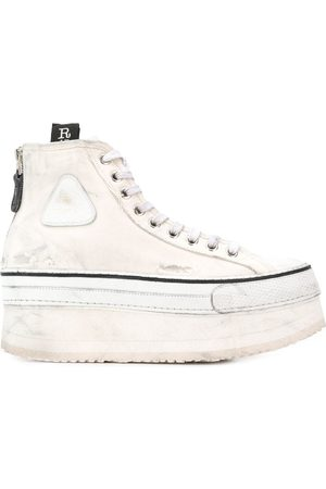 R13 Women Platform Sneakers - Logo platform sneakers
