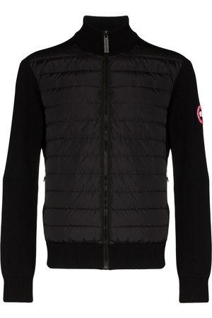 Canada Goose Hybridge wool-panelled padded jacket
