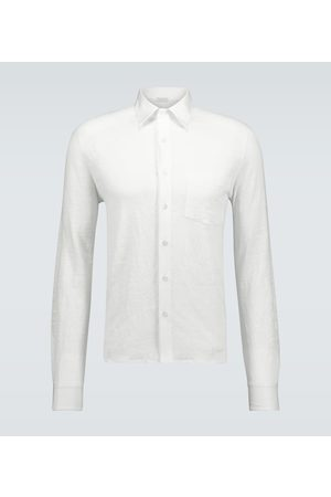 CARUSO Men Long sleeves - Relaxed-fit linen shirt