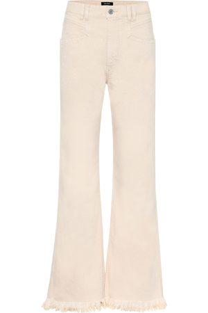 Isabel Marant Women Boyfriend - Elvira high-rise wide-leg jeans