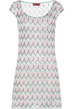 Missoni Women Knitted Dresses - Stretch-silk knit minidress