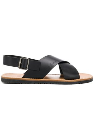 CAR SHOE Cross strap sandals