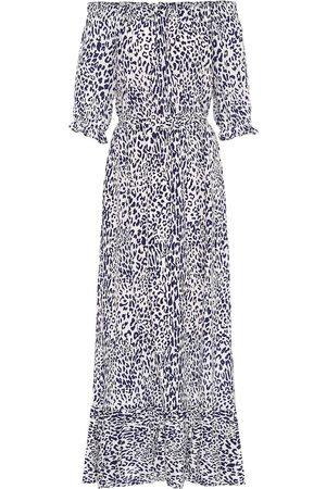 Baum und Pferdgarten Exclusive to Mytheresa – Abril leopard-print midi dress