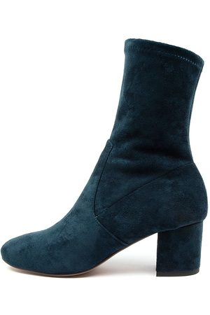 Mollini Careful Navy Boots Womens Shoes Casual Ankle Boots