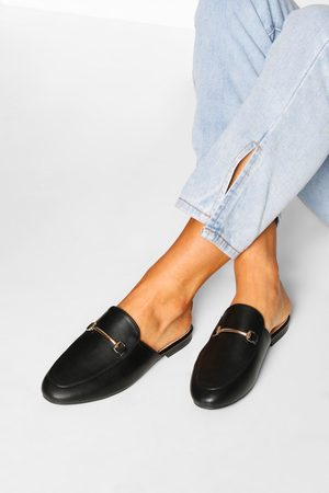Boohoo Basic Mule Loafers