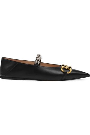 Gucci Women Ballerinas - Horsebit ballerina shoes