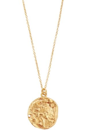 Alighieri Leo 24kt -plated Necklace - Mens