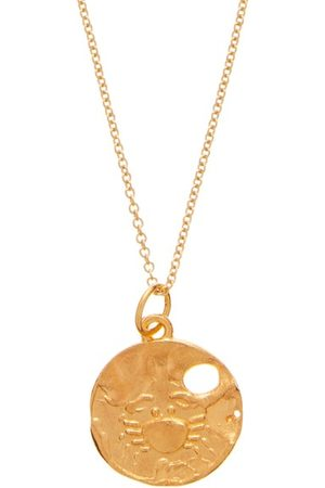Alighieri Cancer 24kt -plated Necklace - Mens
