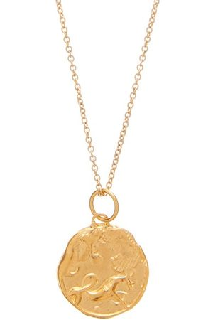 Alighieri Capricorn 24kt -plated Necklace - Mens