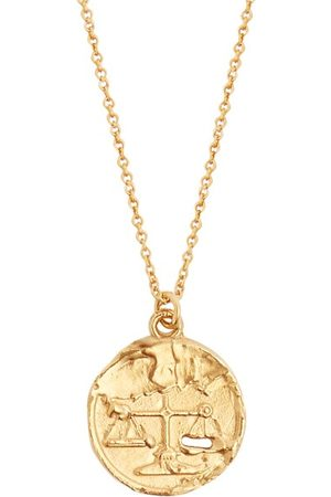 Alighieri Libra 24kt -plated Necklace - Mens