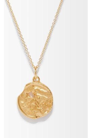 Alighieri Aquarius 24kt -plated Necklace - Mens