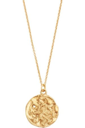 Alighieri Sagittarius 24kt -plated Necklace - Mens