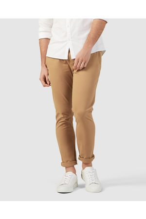 French Connection Slim Fit Chino Pants - Pants (TOBACCO) Slim Fit Chino Pants