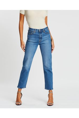 Levi's Wedgie Straight Jeans - Crop (Jive Sound) Wedgie Straight Jeans