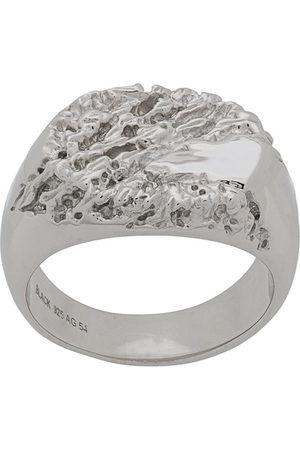 Maria Black Rock signet ring