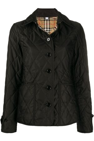 Burberry Women Winter Jackets - Diamond quilted thermoregulated jacket