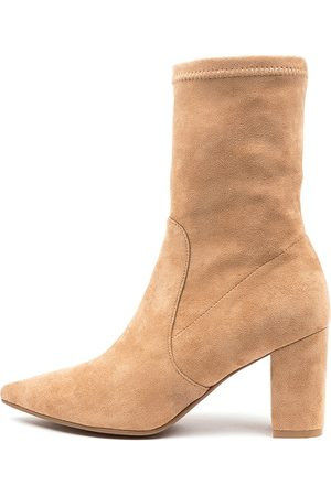 Django & Juliette Nider Dj Camel Boots Womens Shoes Dress Ankle Boots