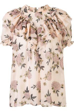 Macgraw Migration floral top