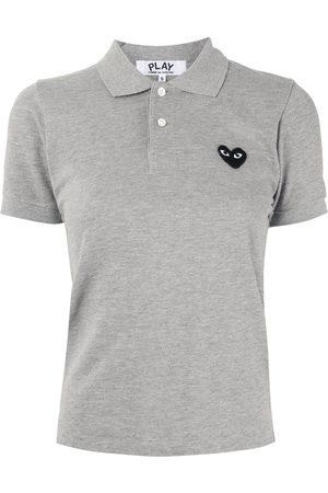 Comme des Garçons Logo embroidered polo shirt