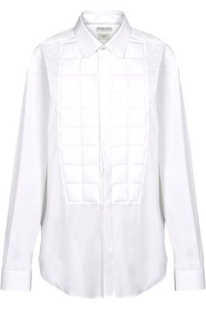Bottega Veneta Panel Stretch poplin shirt