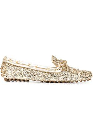 CAR SHOE Glitter driving shoes